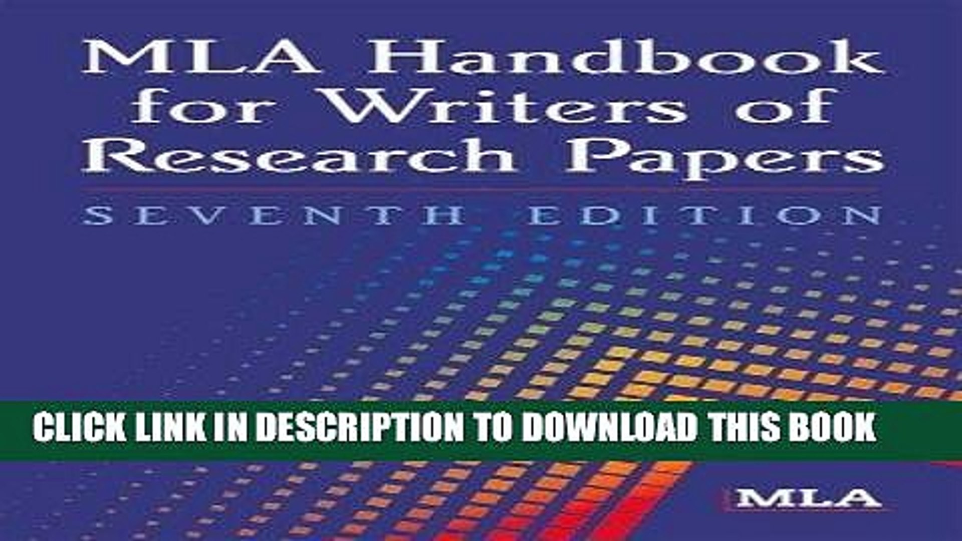 006 Research Paper Mla Handbook For Writing Papers X1080 Frightening Writers Of 8th Edition Pdf Free Download According To The 1920