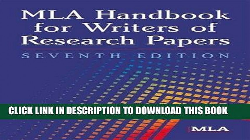 006 Research Paper Mla Handbook For Writing Papers X1080 Frightening Writers Of 8th Edition Pdf Download
