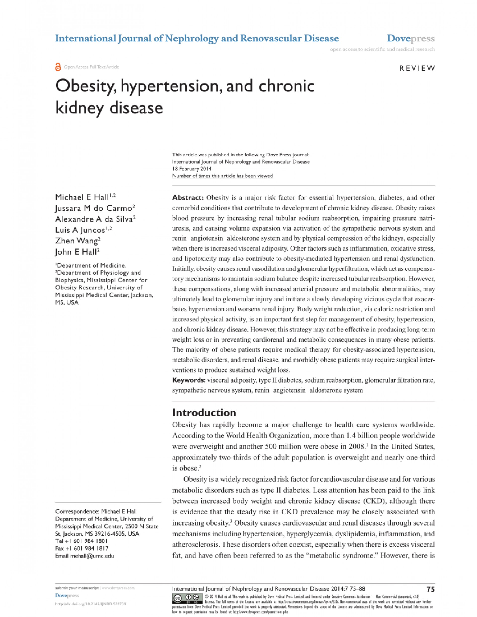 006 Research Paper Obesity And Hypertension Papers Dreaded 1920