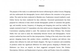006 Research Paper Online Grocery Shopping Stirring Papers On In India