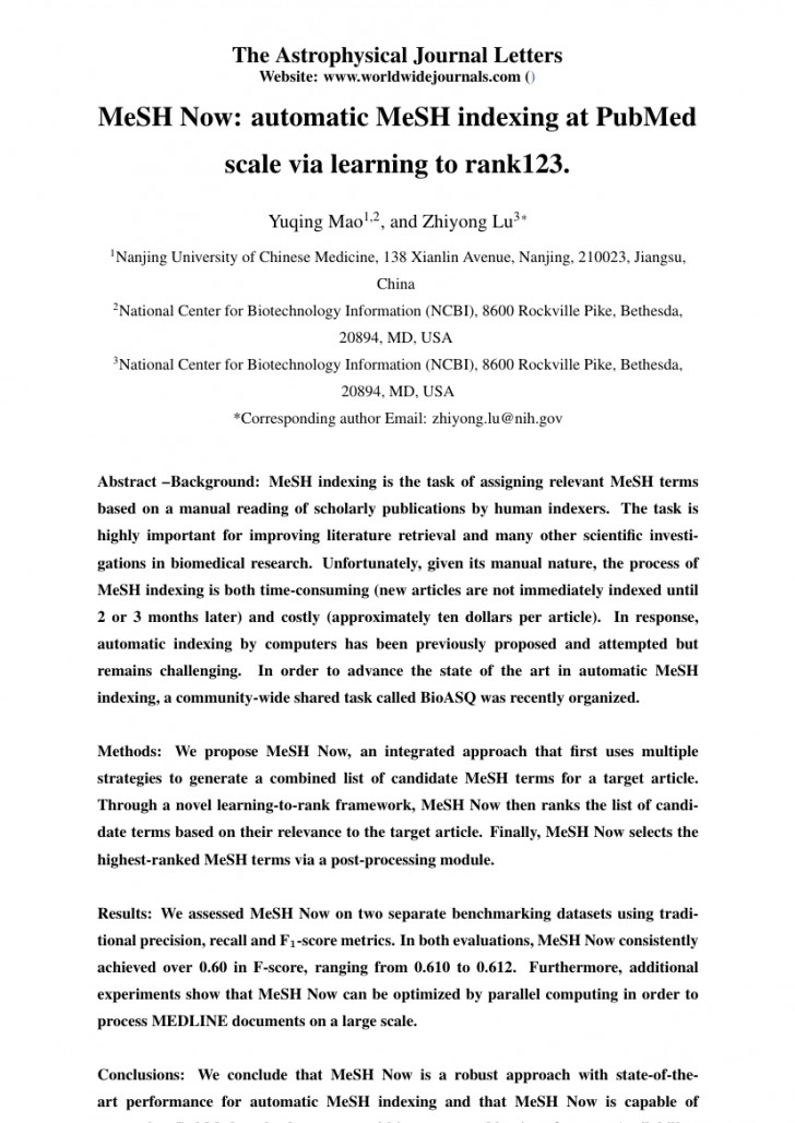 006 Research Paper Order Of Scientific Top Conclusion Example How To Write A Good For Science 728