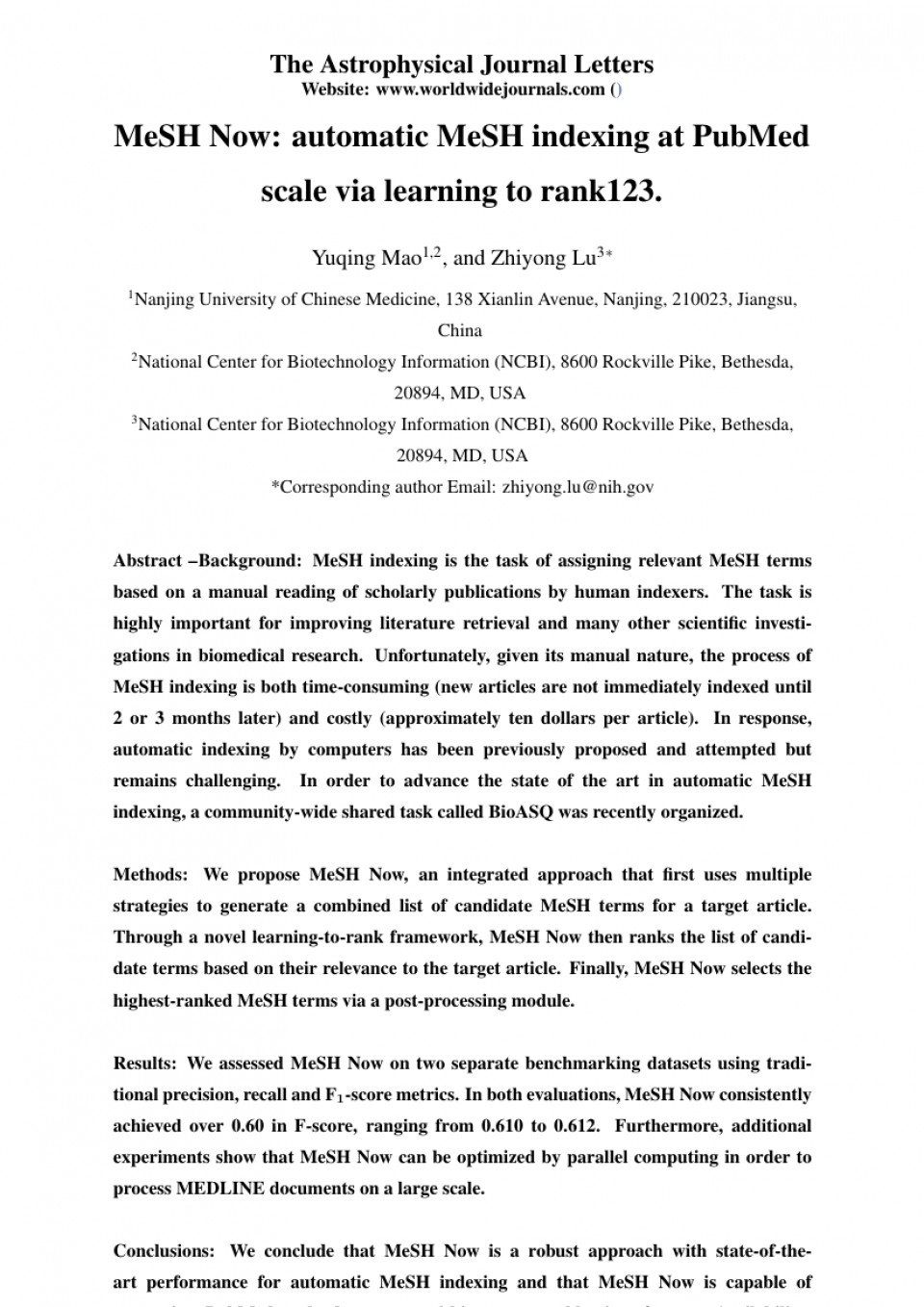 006 Research Paper Order Of Scientific Top Conclusion Example How To Write A Good For Science 960