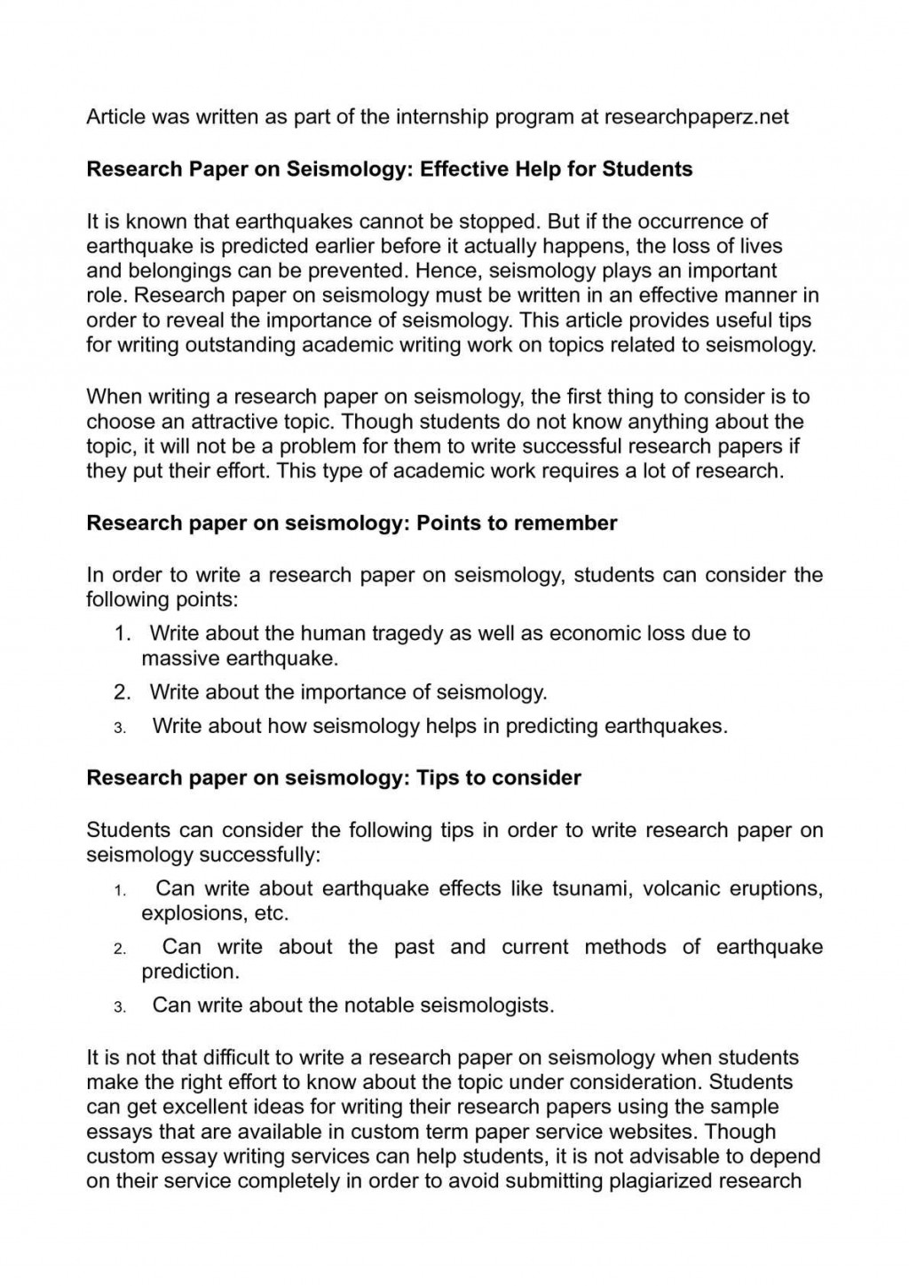 006 Research Paper Order Of Writing Impressive A Correct Sequence Steps For Large