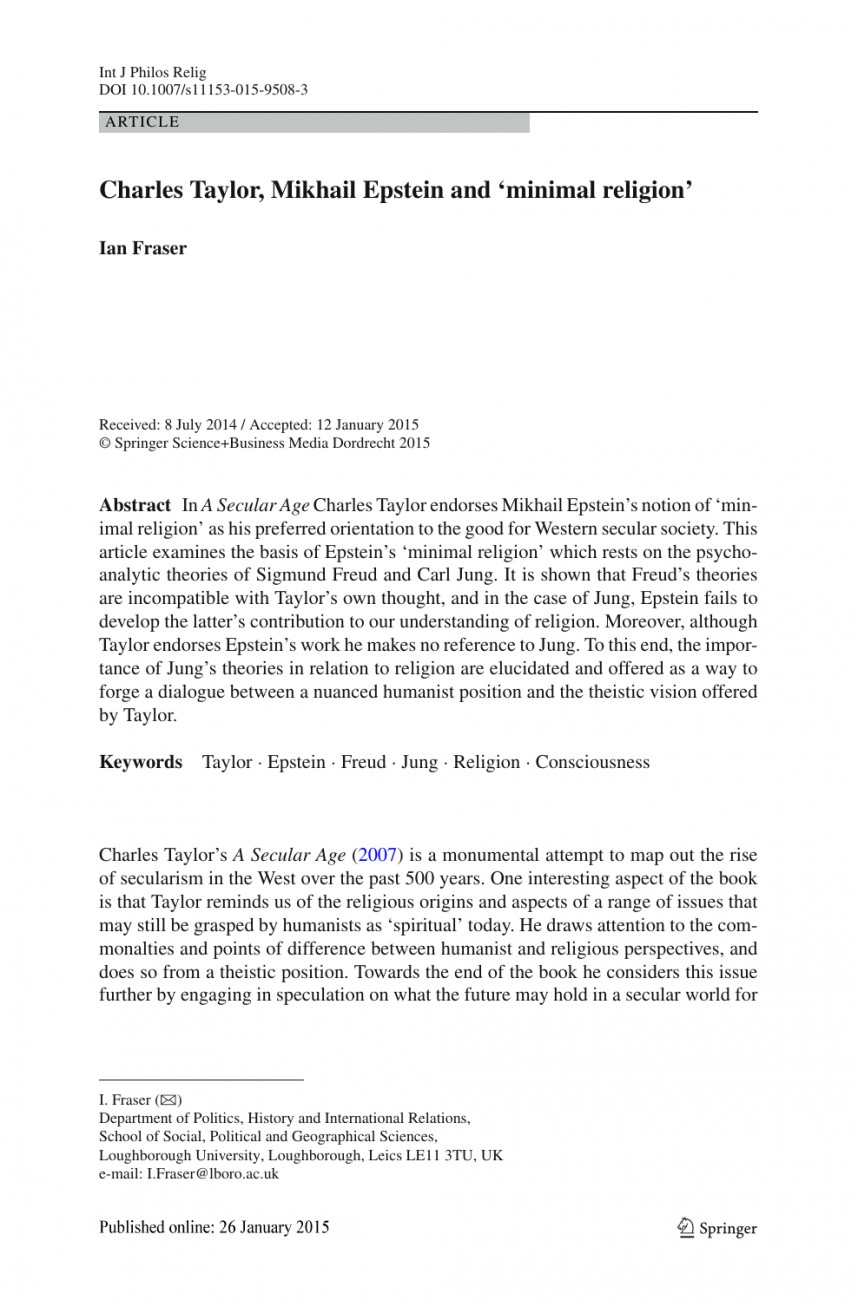 006 Research Paper Philosophy Of Religion Topics Awful 868