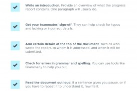 006 Research Paper Progress Report Checklist Correct Sequence Of Steps For Writing Remarkable A