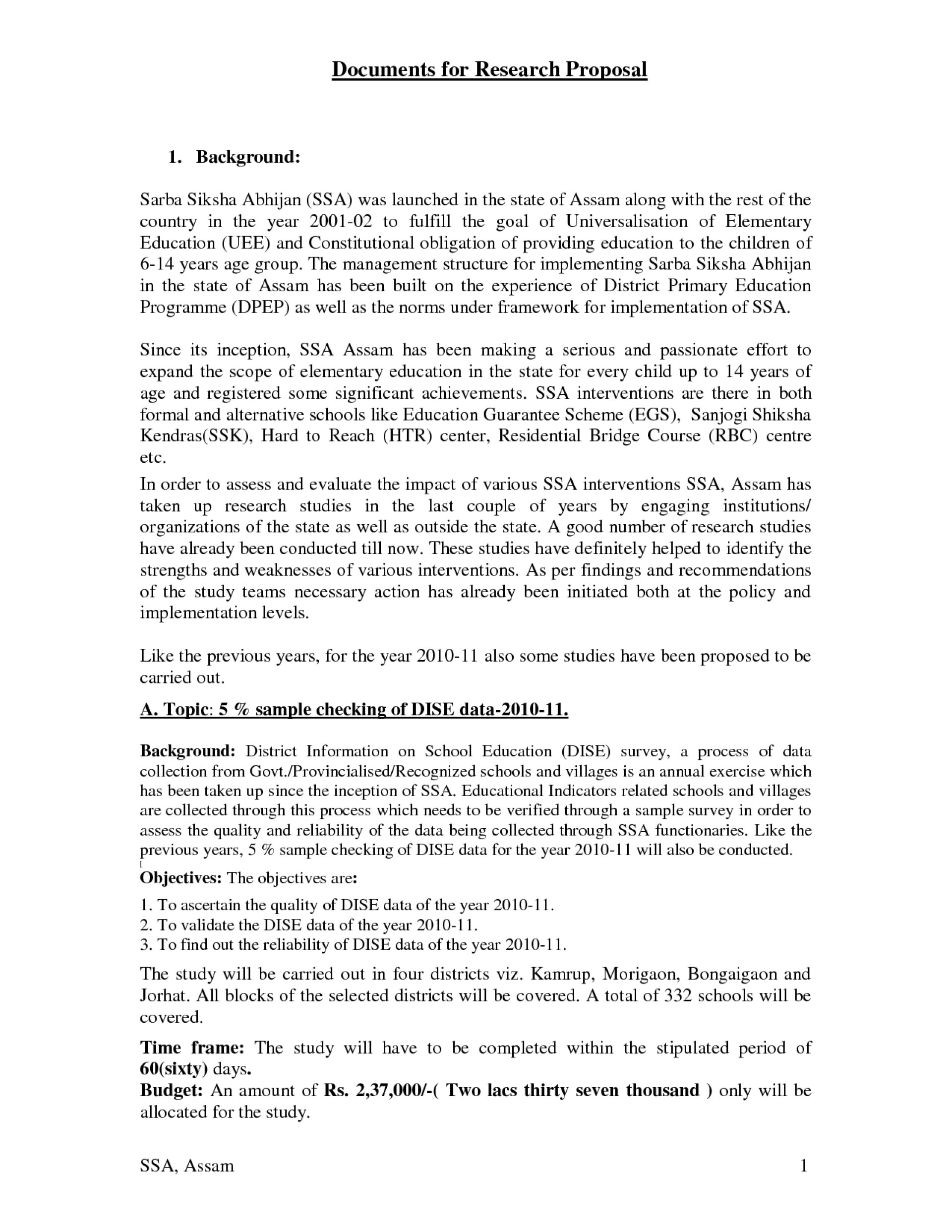 006 Research Topic Proposal Sample 501313 Example Wonderful Paper Template Write 5 Of A 1920