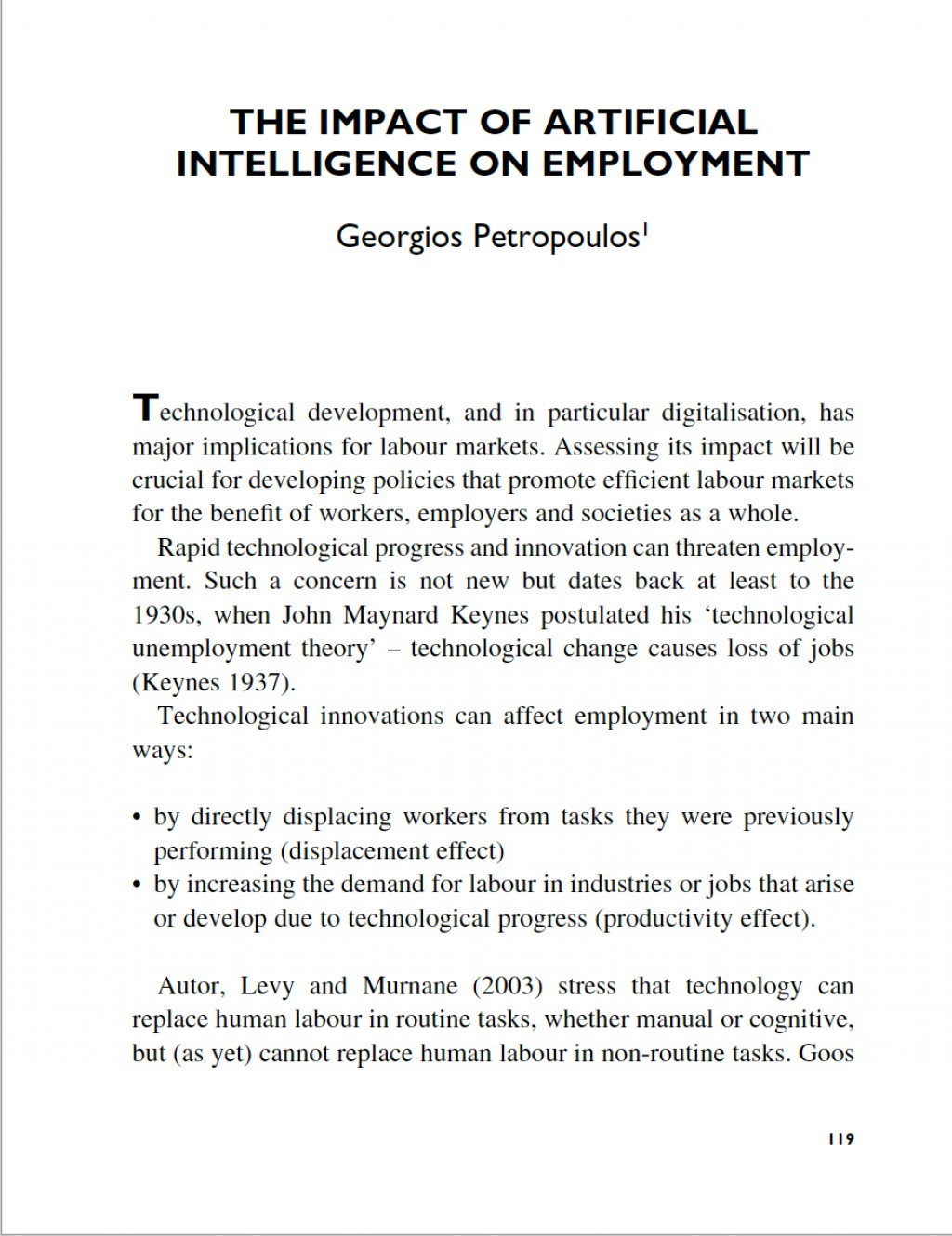 006 Screen Shot At Research Paper Artificial Intelligence Archaicawful 2018 Pdf Large