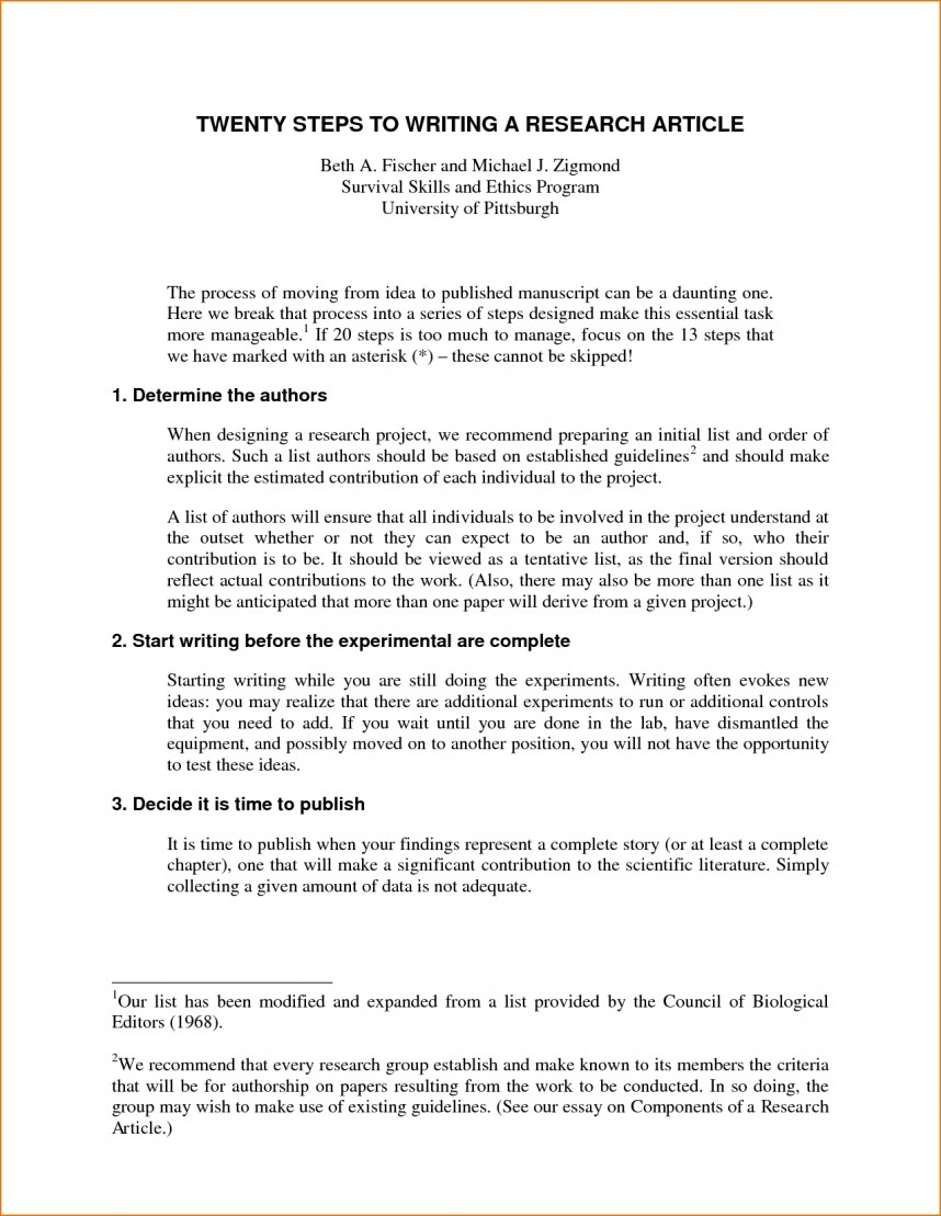 006 Steps Writing Research Frightening Paper 10 Pdf For A
