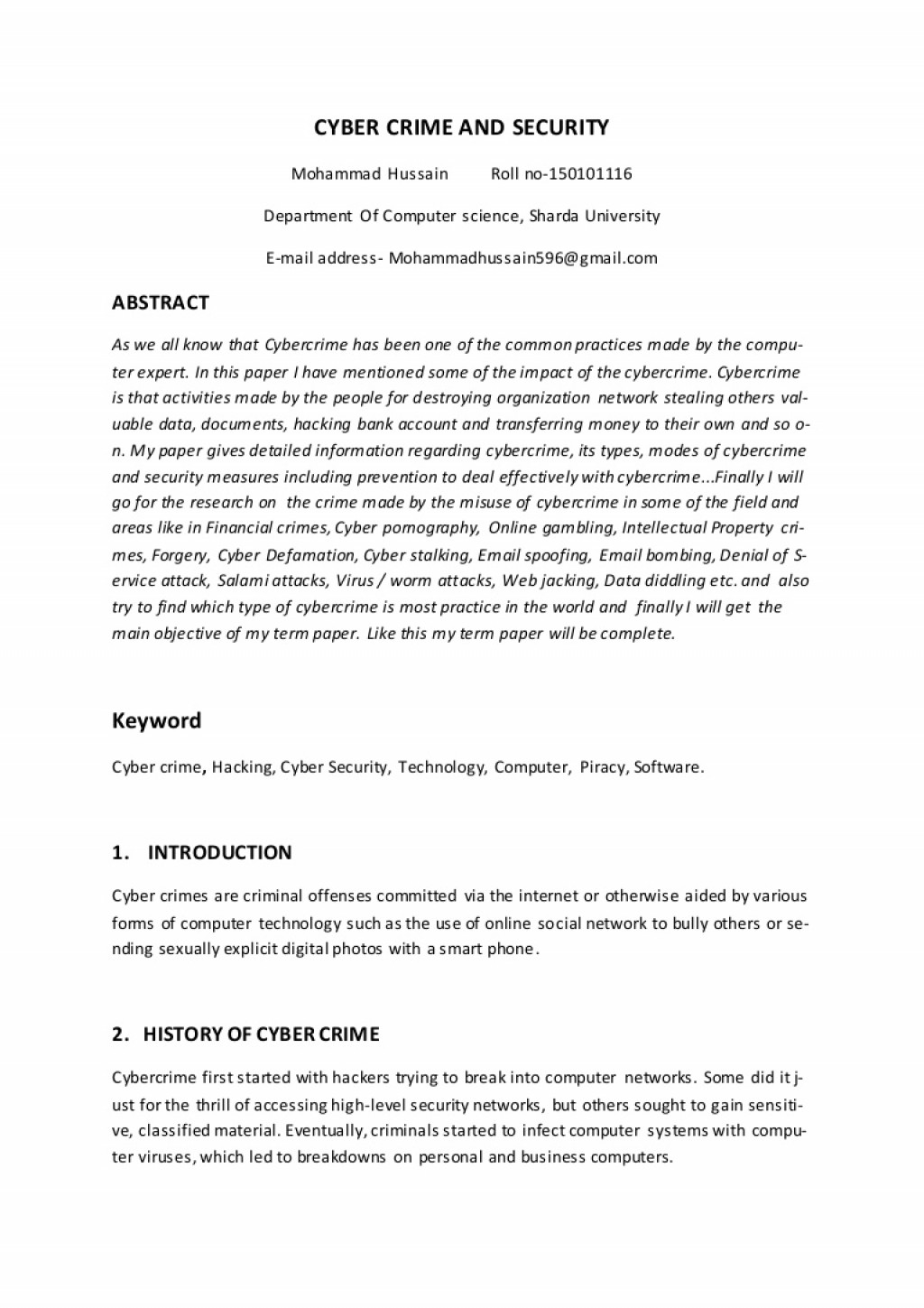 006 Termpaper Thumbnail Research Paper Cyber Security Wondrous Ieee Large