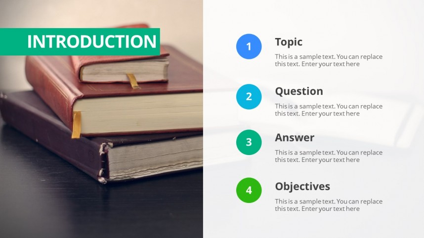 006 Thesis Powerpoint Template 16x9 Format Of Research Paper Stirring Ppt Apa Example Introduction In