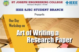 006 Workshop Banner Writing Of Research Fascinating Paper Abstract Review Introduction