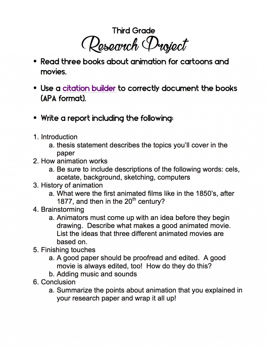 007 3rd Grade Research Project Cancer Paper Topic Surprising Ideas Breast Large