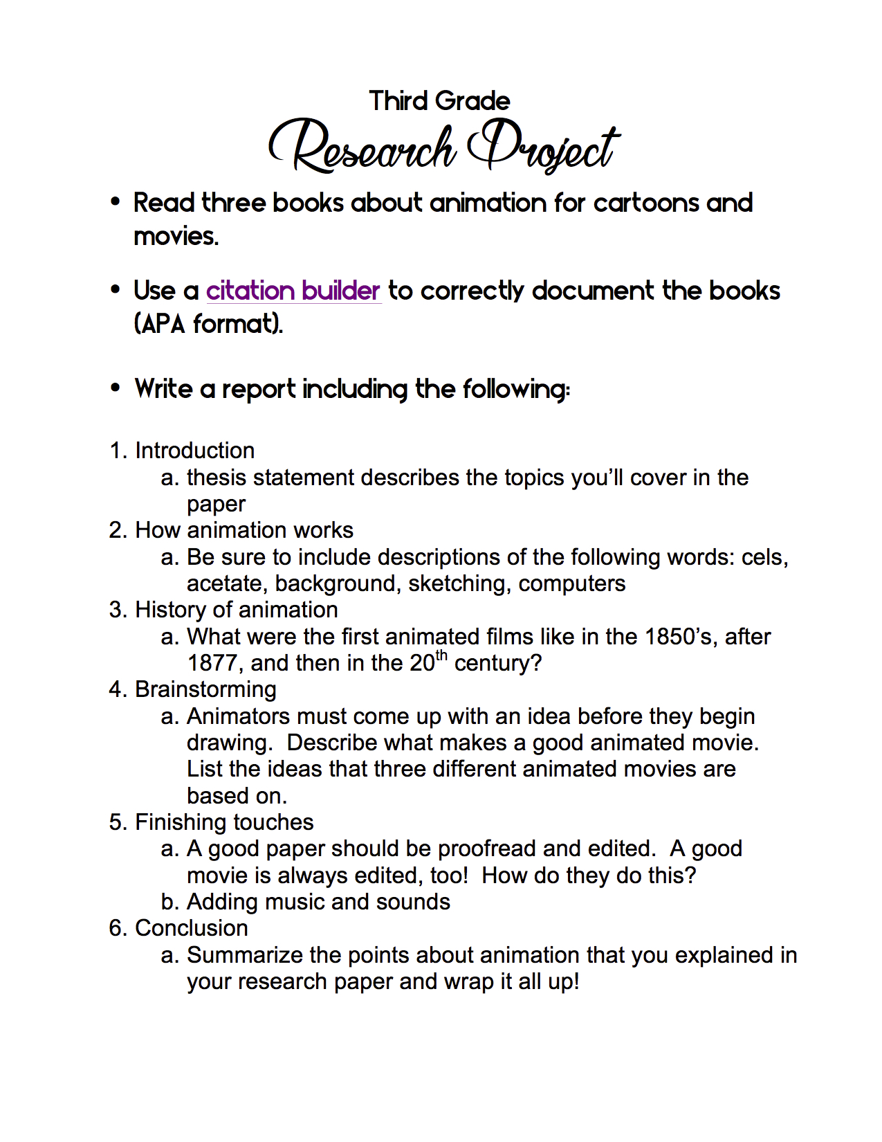 007 3rd Grade Research Project Cancer Paper Topic Surprising Ideas Breast Full