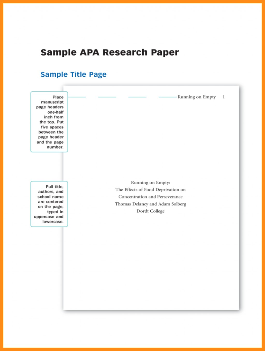 007 Apa Research Paperver Page Template Samples Of Papers Format Title Sample Dolap Magnetband Impressive Paper Cover Large