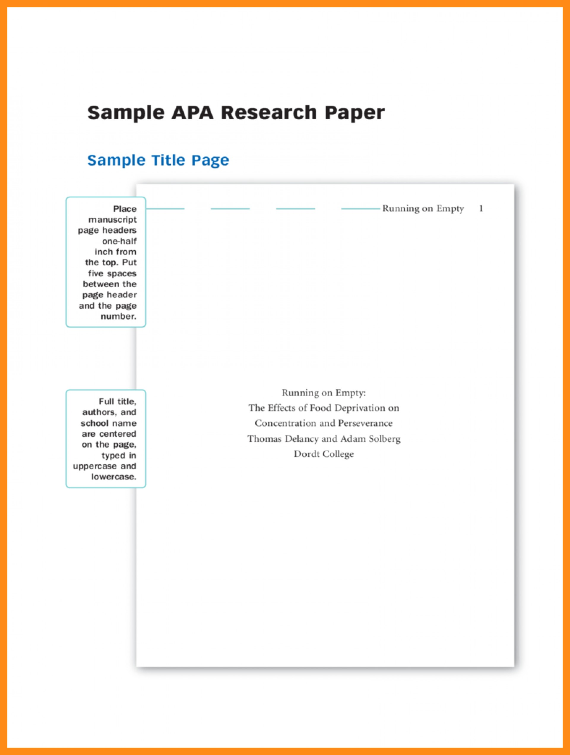 007 Apa Research Paperver Page Template Samples Of Papers Format Title Sample Dolap Magnetband Impressive Paper Cover 1920