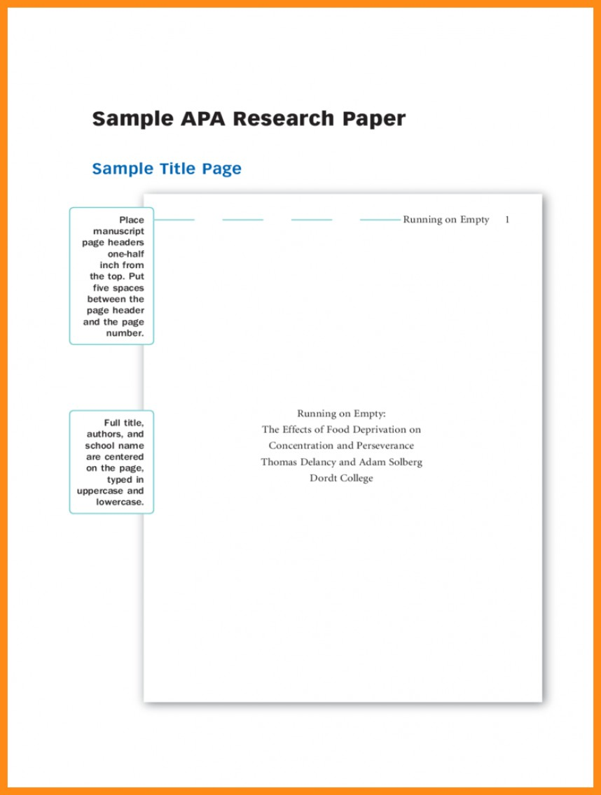 007 Apa Research Paperver Page Template Samples Of Papers Format Title Sample Dolap Magnetband Impressive Paper Cover