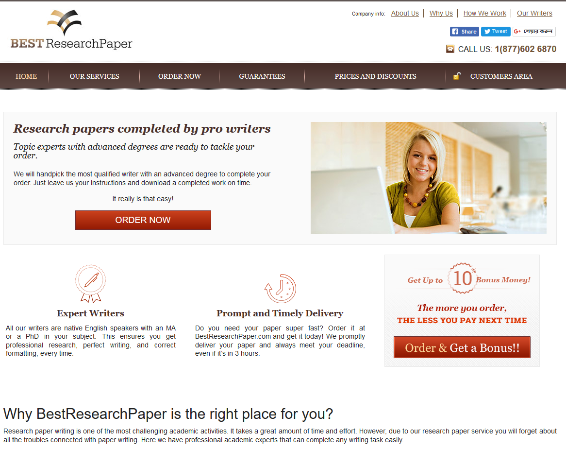 007 Best Research Paper Writing Services In Usa Top Full