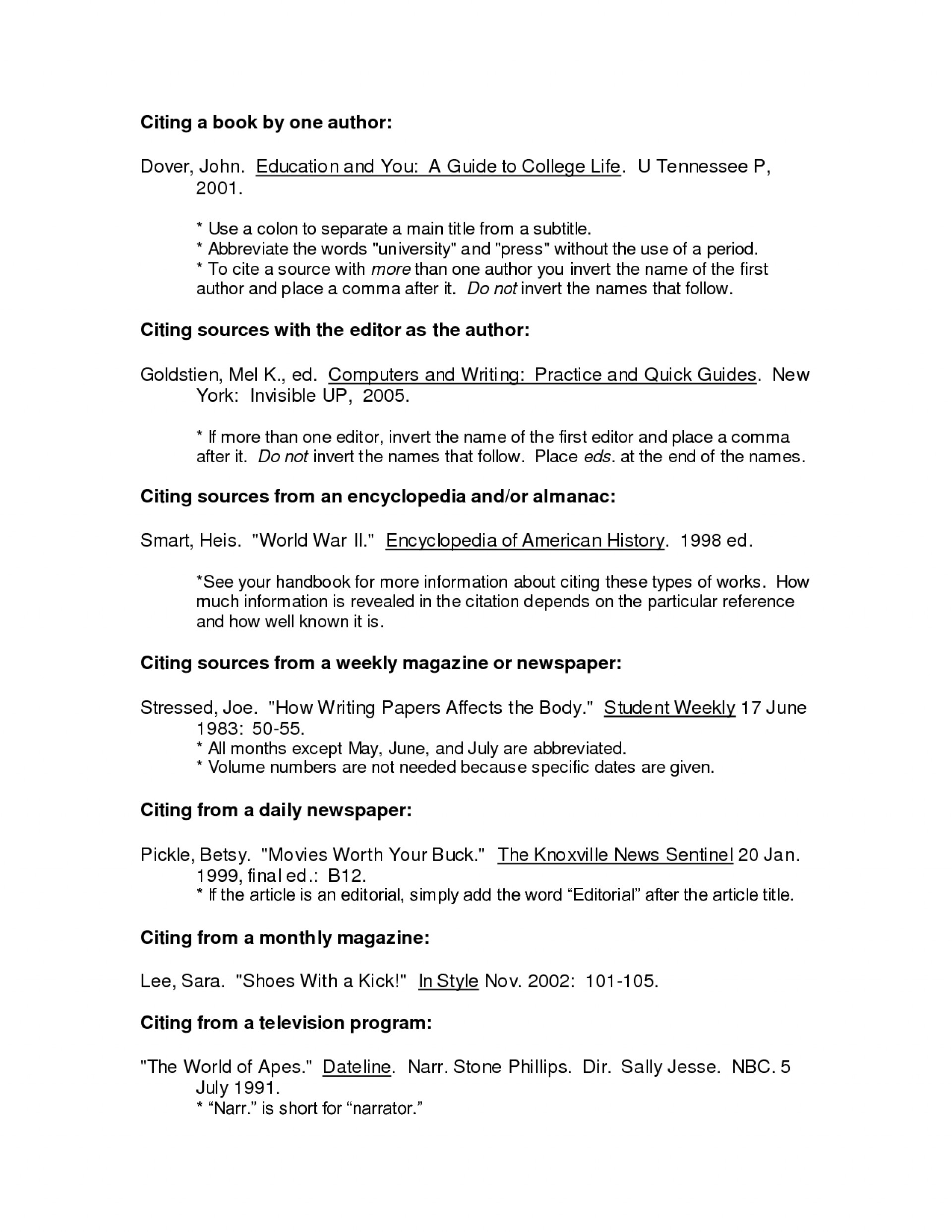 007 Bibliography Research Paper Sample Annotated For Dreaded Format Citing A 1920