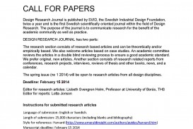 007 Call For Papers Nr 1 2014 Research Paper Stupendous Generator Free Thesis Title Page Fake
