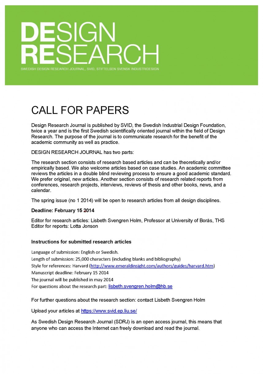 007 Call For Papers Nr 1 2014 Research Paper Stupendous Generator Outline Citation Reddit