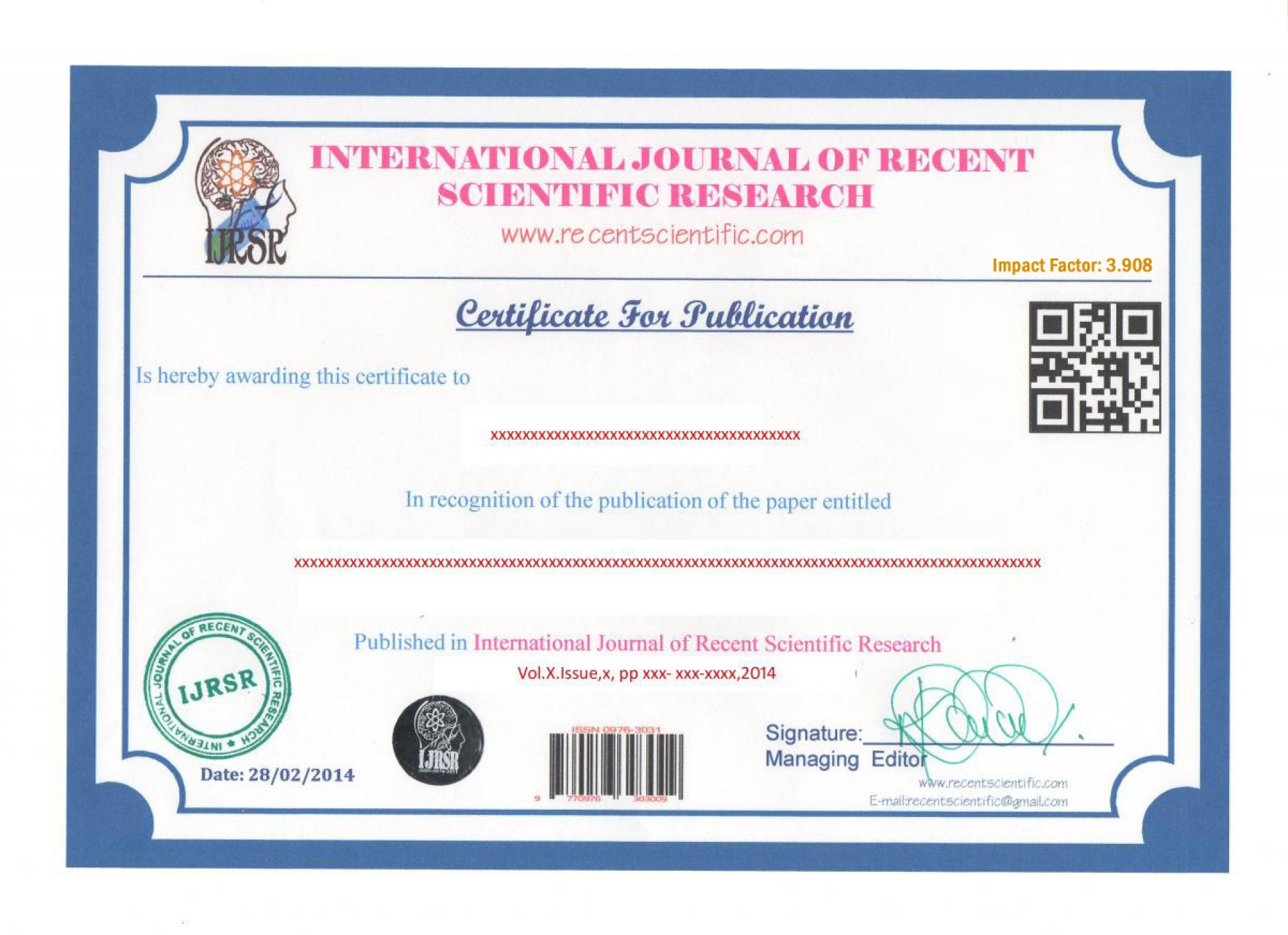 007 Certificate20copy Research Paper How To Publish In International Journal Free Unusual Pdf 1920