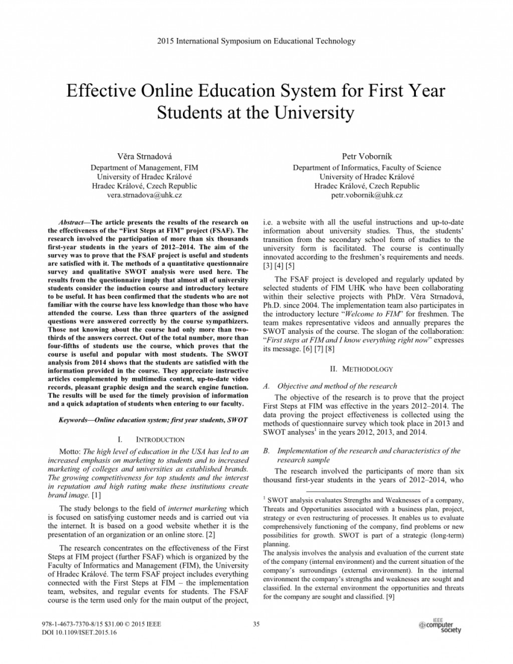 007 Effectiveness Of Online Education Research Paper Amazing Large