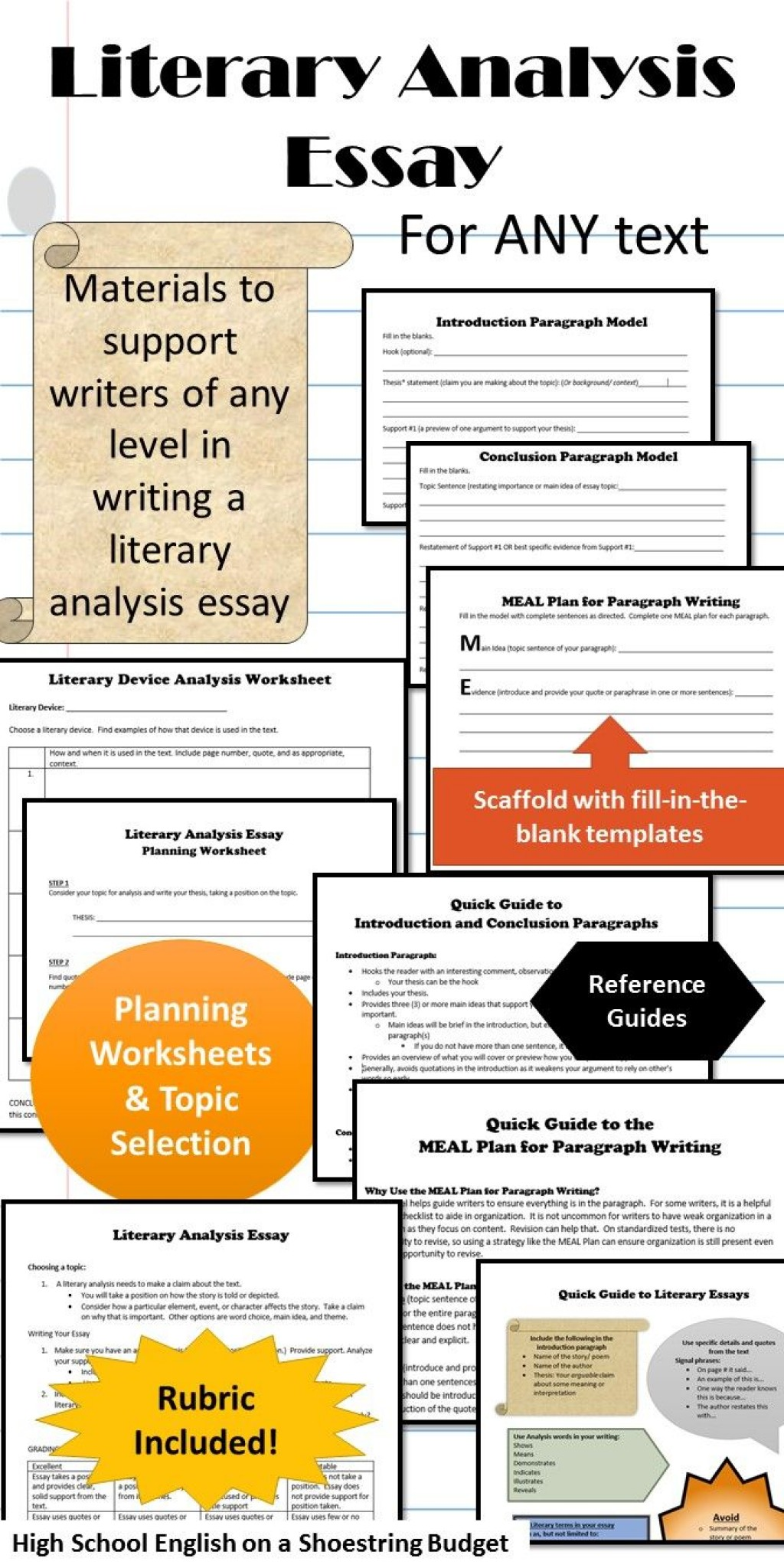 007 Essay On English Literature Pdf Research Paper Fearsome Large