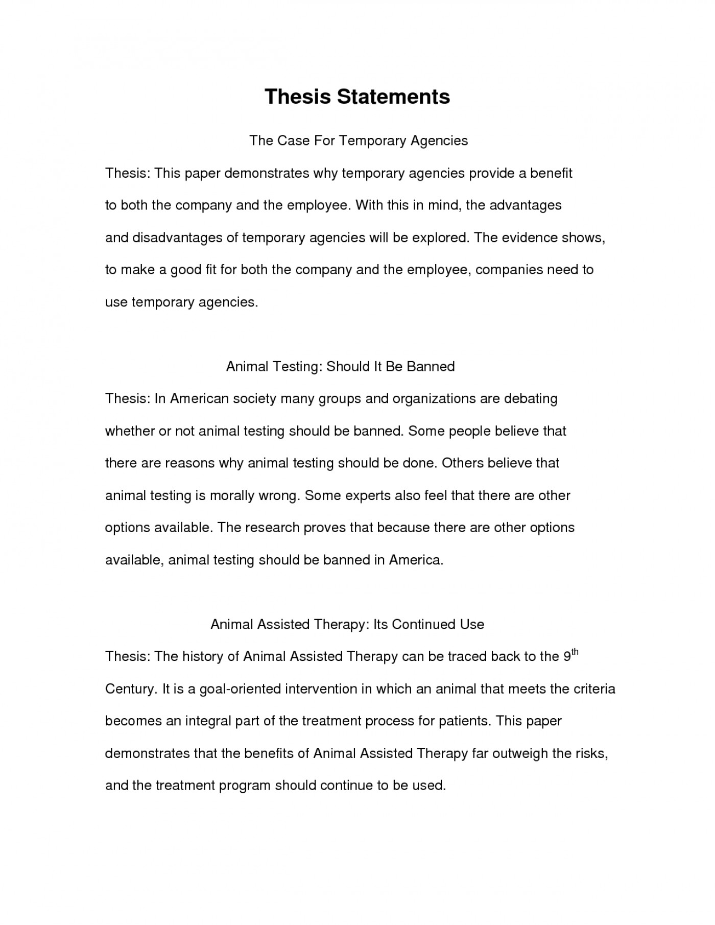 Proposal Essay Sample  Proposal Essay Topics Ideas also Examples Of Thesis Statements For Persuasive Essays  Example Essay Thesis Statement Examplesch Paper Of  How Do I Write A Thesis Statement For An Essay