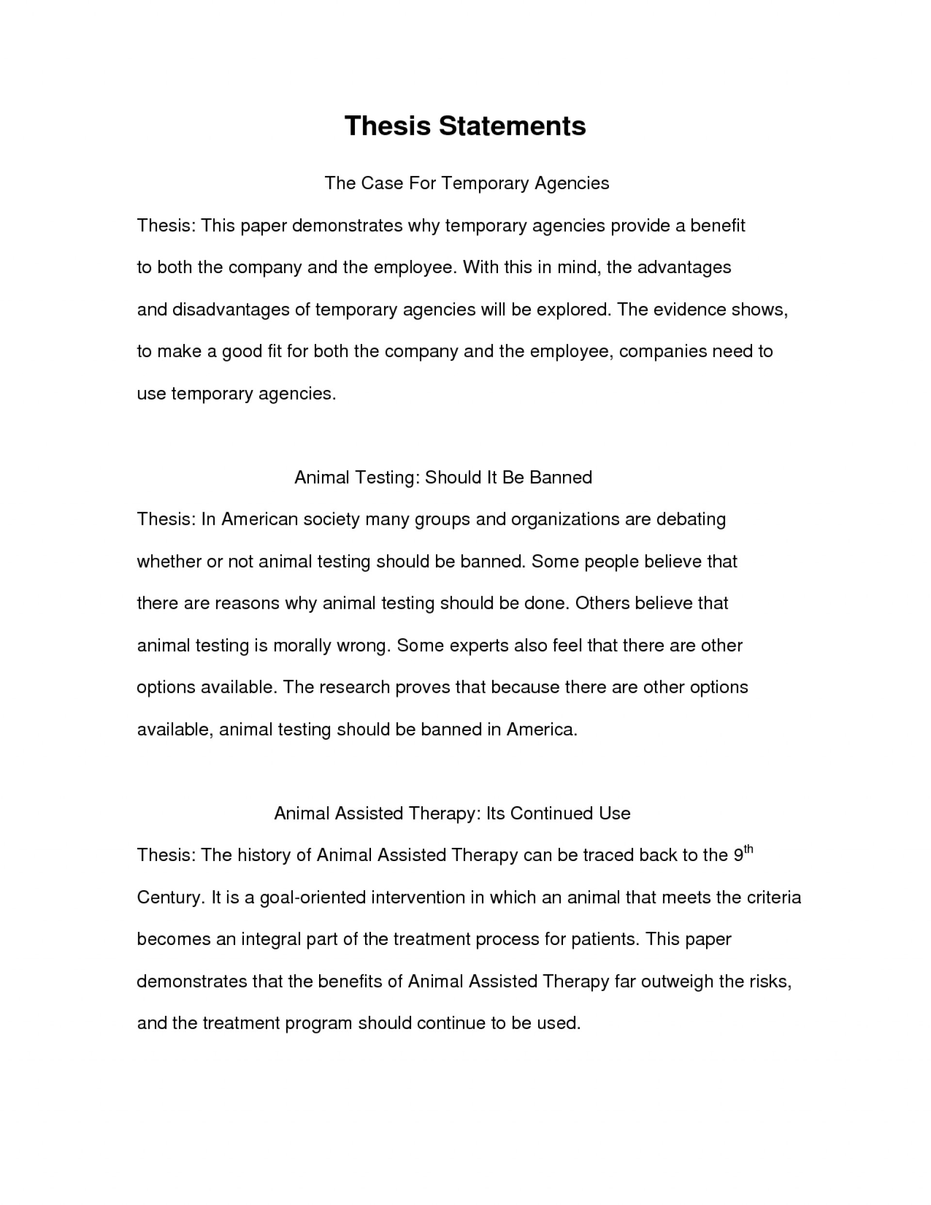 example essay thesis statement examplesch paper of