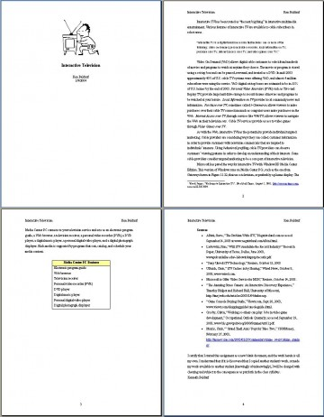 007 Example Of Research Paper Written In Apa Excellent Format Sample A 360