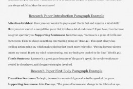 007 Good Introduction For Research Paper Essay Examples Of 791x1024 Intro To Dreaded A Writing An Middle School How Write Great Best