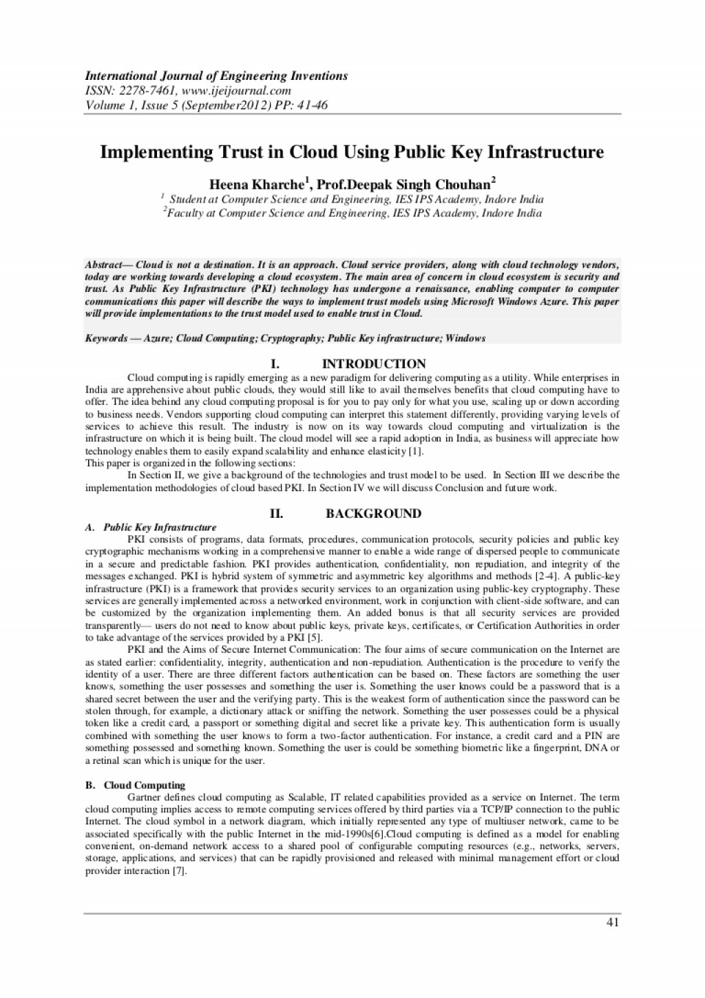 007 H0154146 Phpapp01 Thumbnail Research Paper How To Publish In Computer Fearsome A Science Large