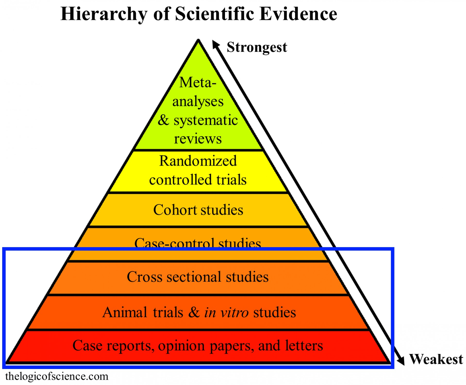007 Hierarchy Of Evidence3 Research Paper Autism Shocking Questions 1920