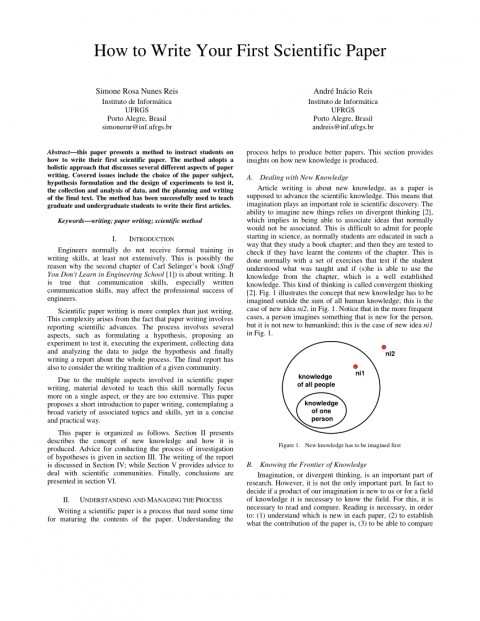 007 How To Write Scientific Paper And Publish Research Surprising A Pdf 480