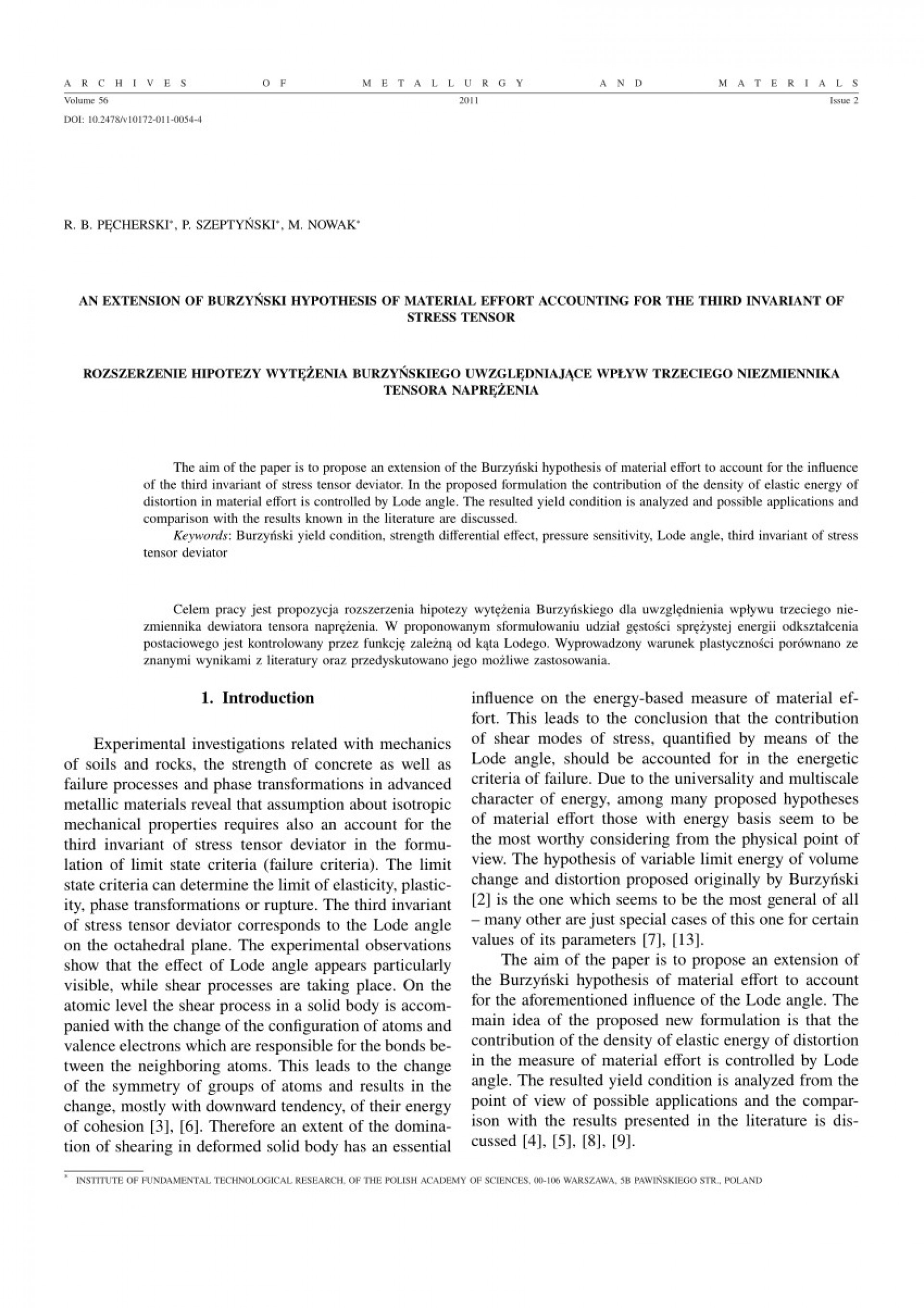 007 Hypothesis In Research Paper Pdf Fresh An Extension Of Burzyac284ski Material Sensational Testing 1920