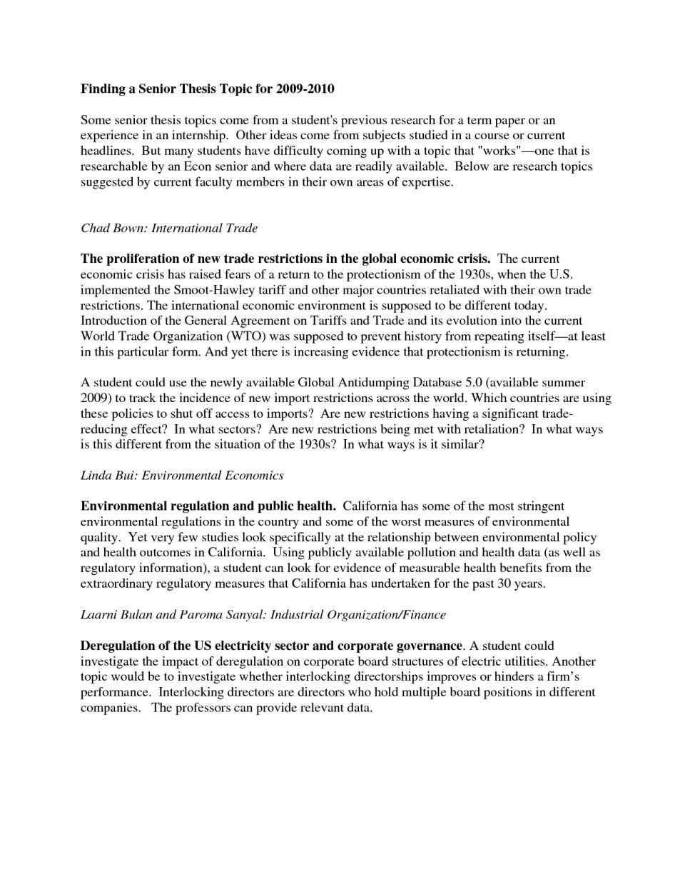007 Interesting Topics For Research Paper High School Frightening A Students Argumentative 960