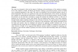 007 Largepreview Research Paper Complete About Bullying Awful Pdf Qualitative