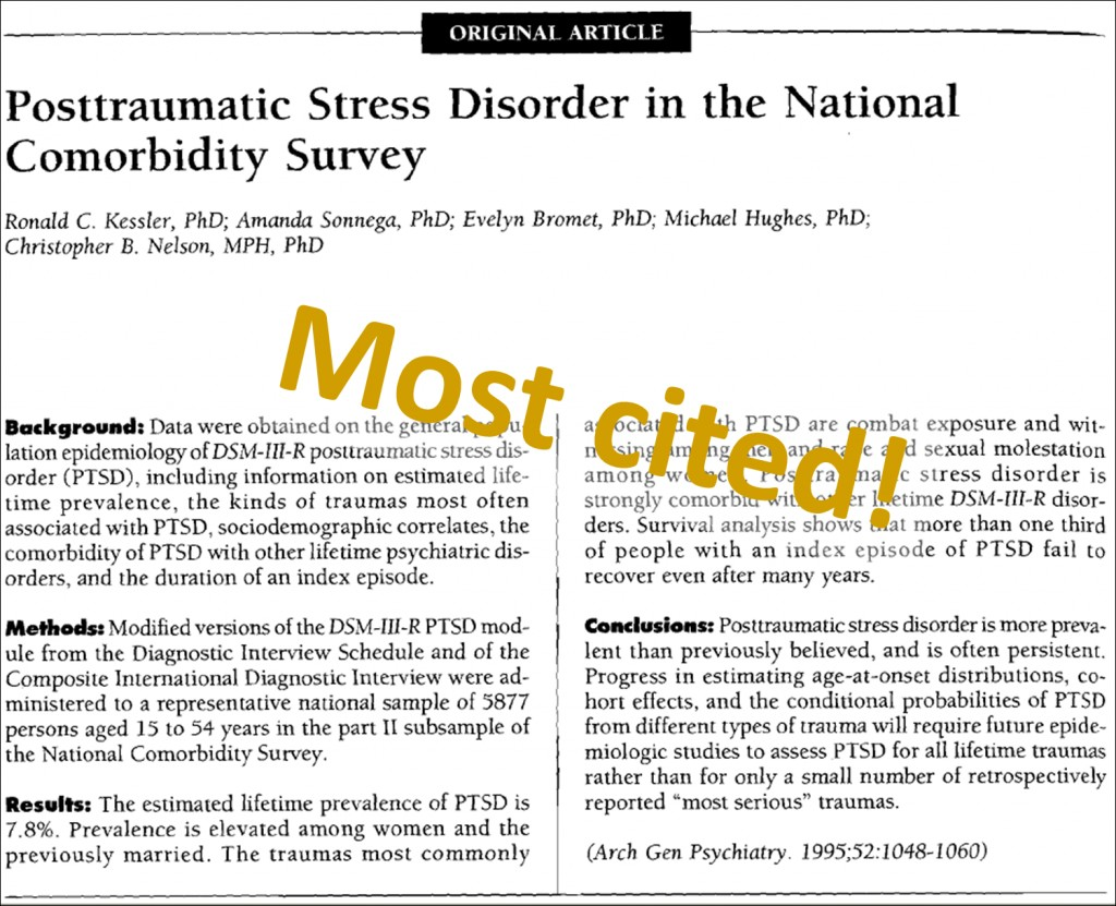 007 Latest Research On Post Traumatic Stress Disorder Paper Trauma Recovery Most Cited Magnificent Information Topics Large