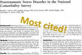 007 Latest Research On Post Traumatic Stress Disorder Paper Trauma Recovery Most Cited Magnificent Information Topics