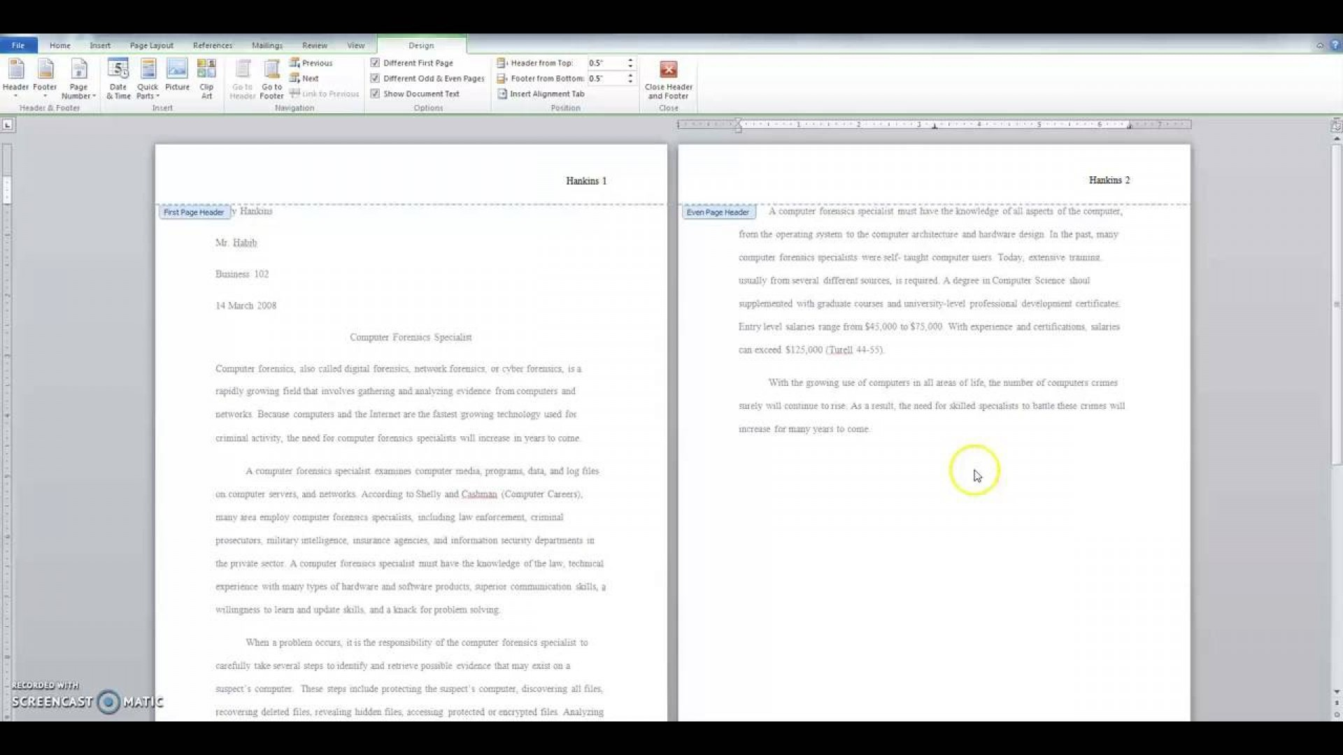 007 Maxresdefault Research Paper How To Format Staggering A College Write In Apa Example Of 1920