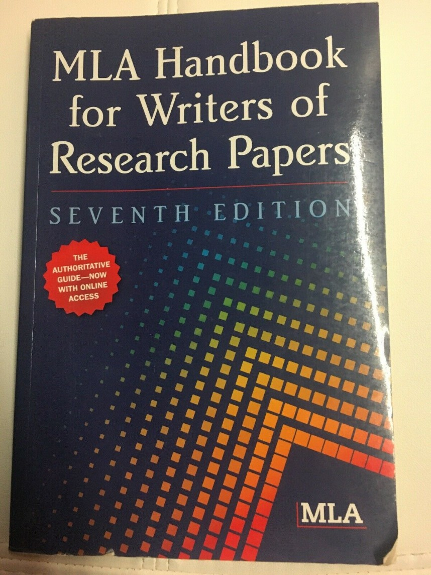 007 Mla Handbook For Writing Research Papers Paper S Frightening Writers Of 8th Edition Pdf Download