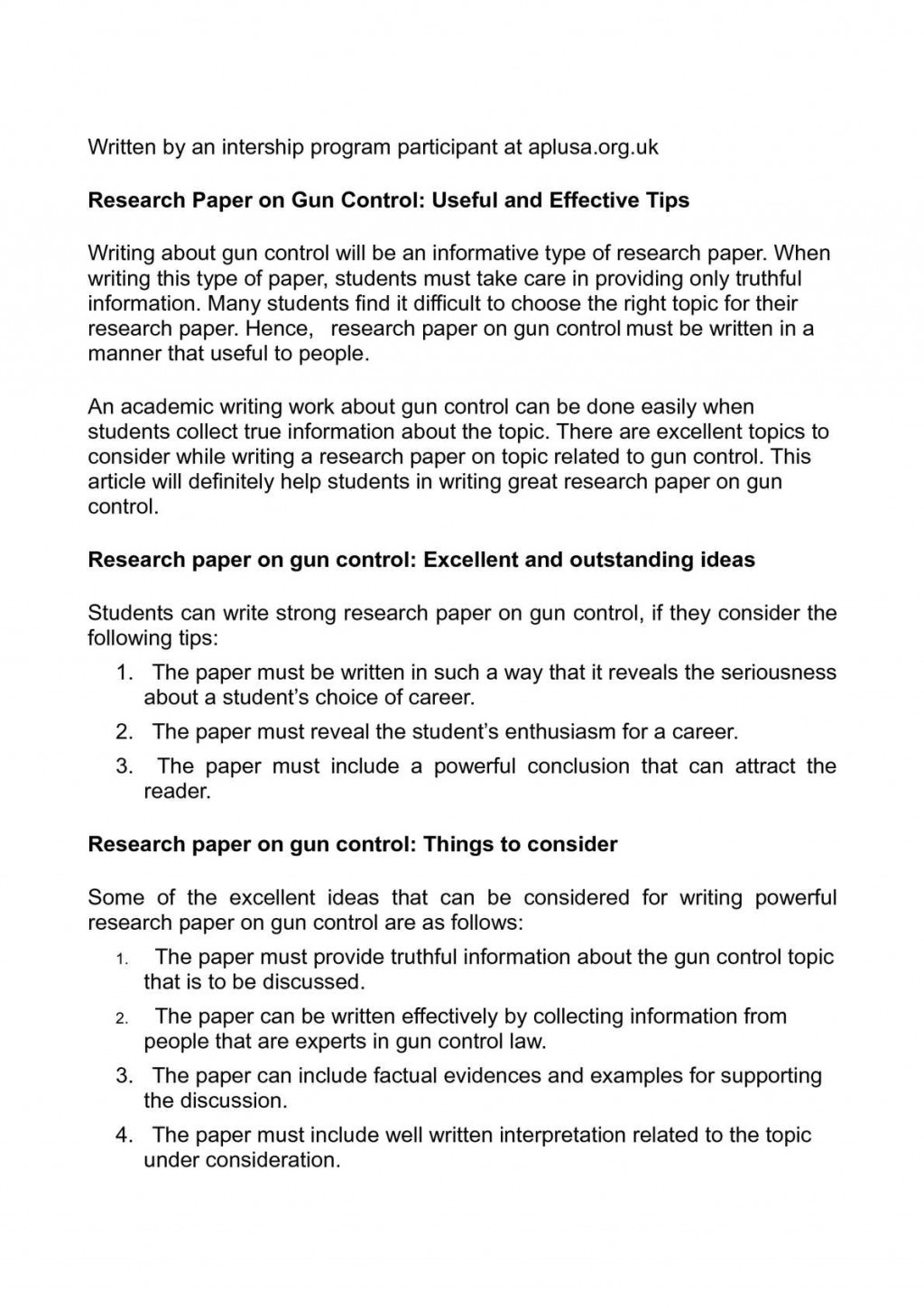007 P1 Conclusion Ideas For Research Marvelous A Paper Large