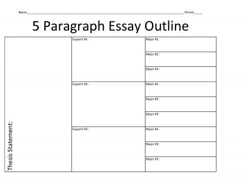 007 Planning Research Paper Outline Stirring A 480