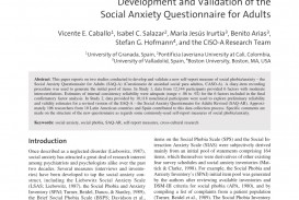 007 Psychology Research Paper On Social Anxiety Disorder Staggering 320