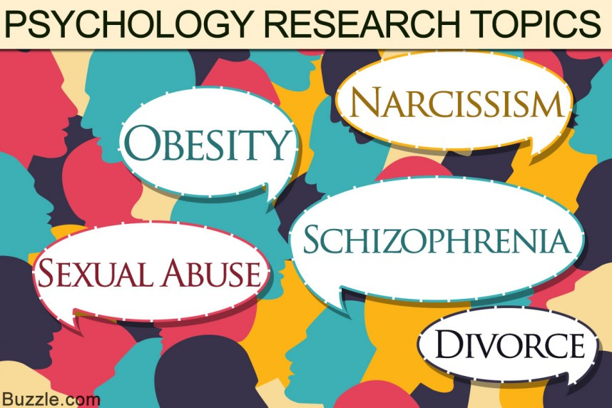 007 Psychology Research Paper Topics Easy Fascinating Medical