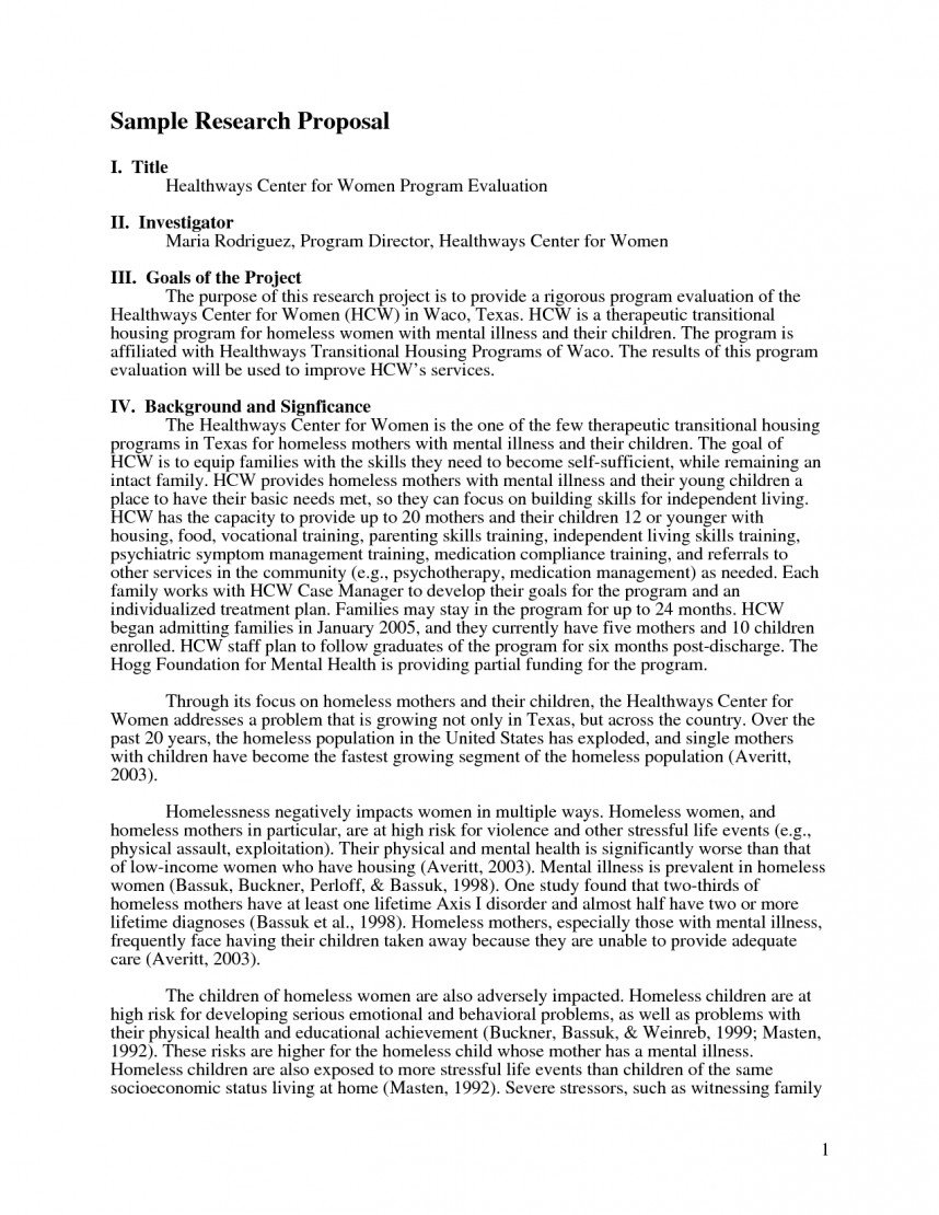 007 Psychology Research Proposal 612686 How To Write An Introduction For Paper Rare A Sample Example Pdf
