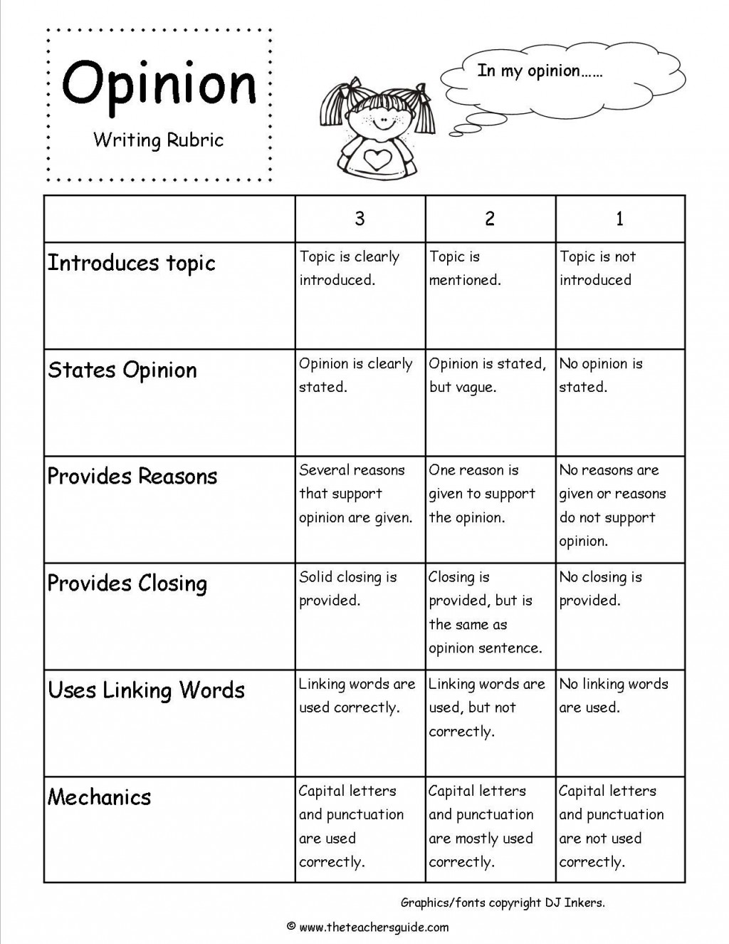 007 Research Paper 6th Grade Science Rubric 4th Writing Astounding Large