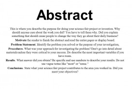 007 Research Paper Abstract Of Scientific Slide 2 Incredible A Example