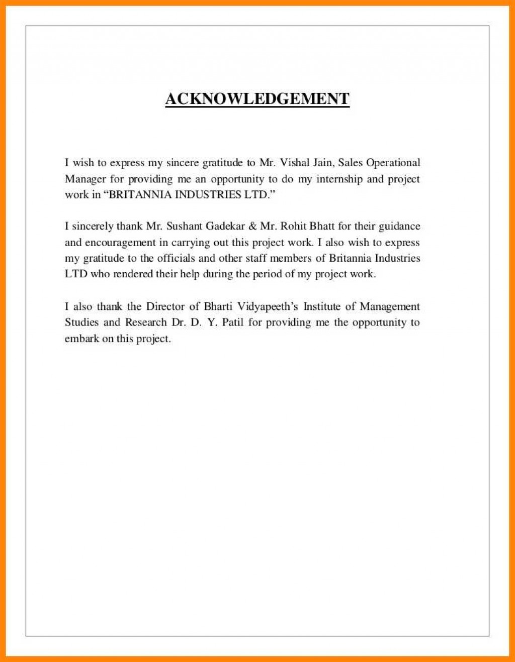 007 Research Paper Acknowledgement For Examples Sample Of 13 Striking Large