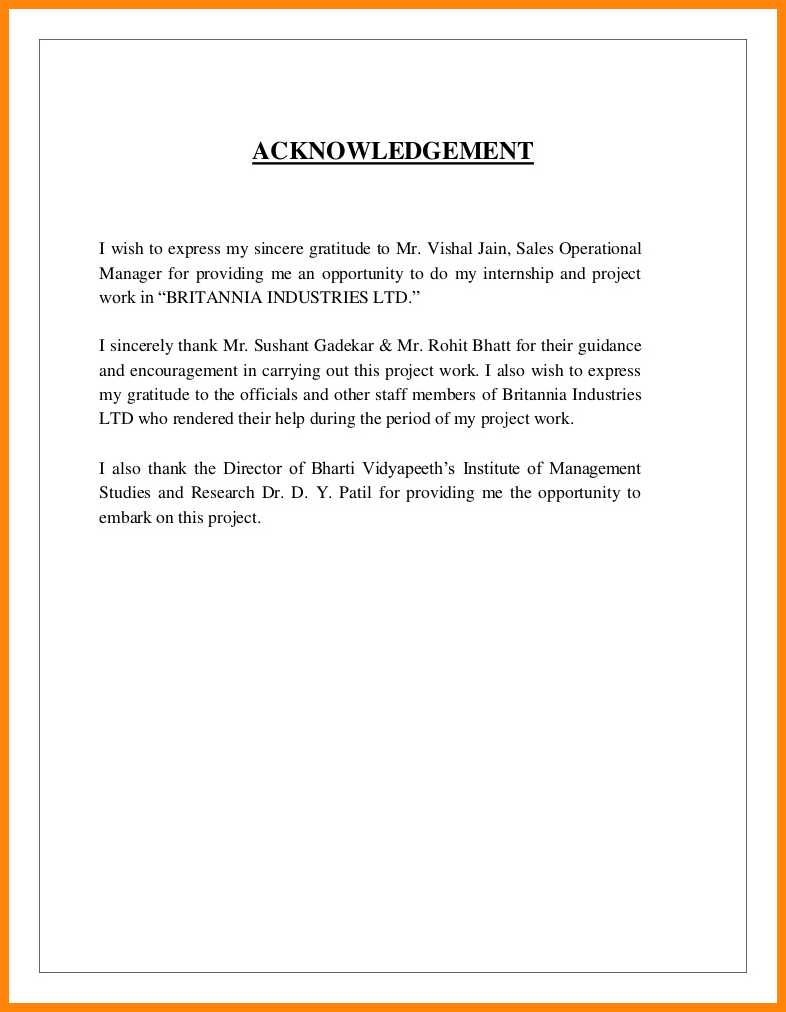 007 Research Paper Acknowledgement For Examples Sample Of 13 Striking Full